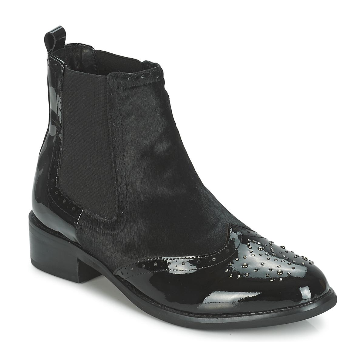 Moda In Pelle Auletti Low Ankle Boots in Black - Lyst 352185526074