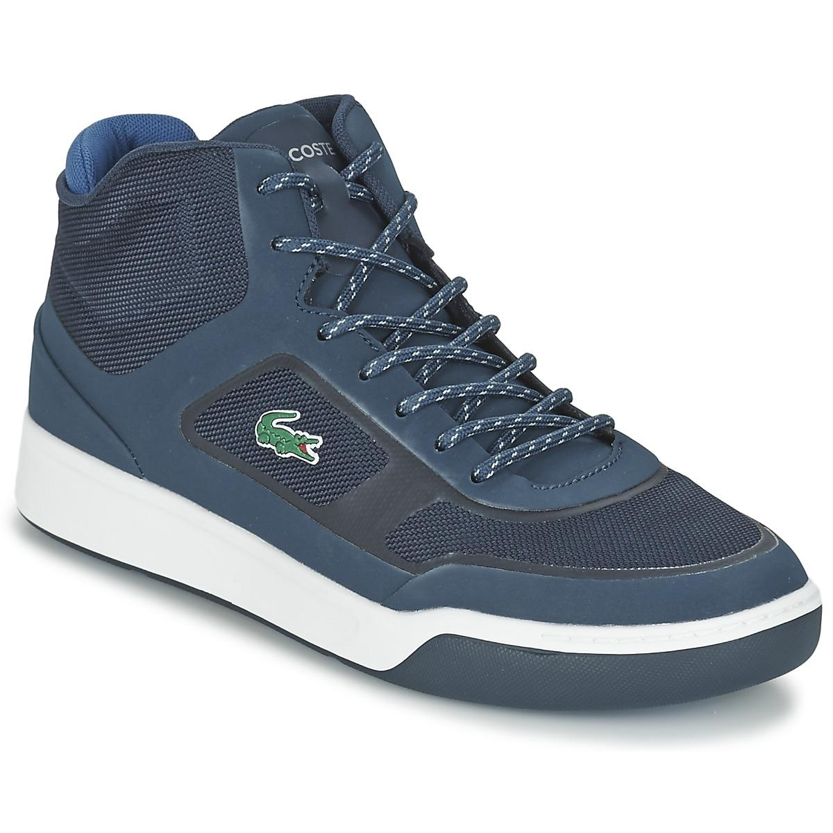 bf0c81514fbe Lacoste Explorateur Spt Mid 117 2 Shoes (high-top Trainers) in Blue ...