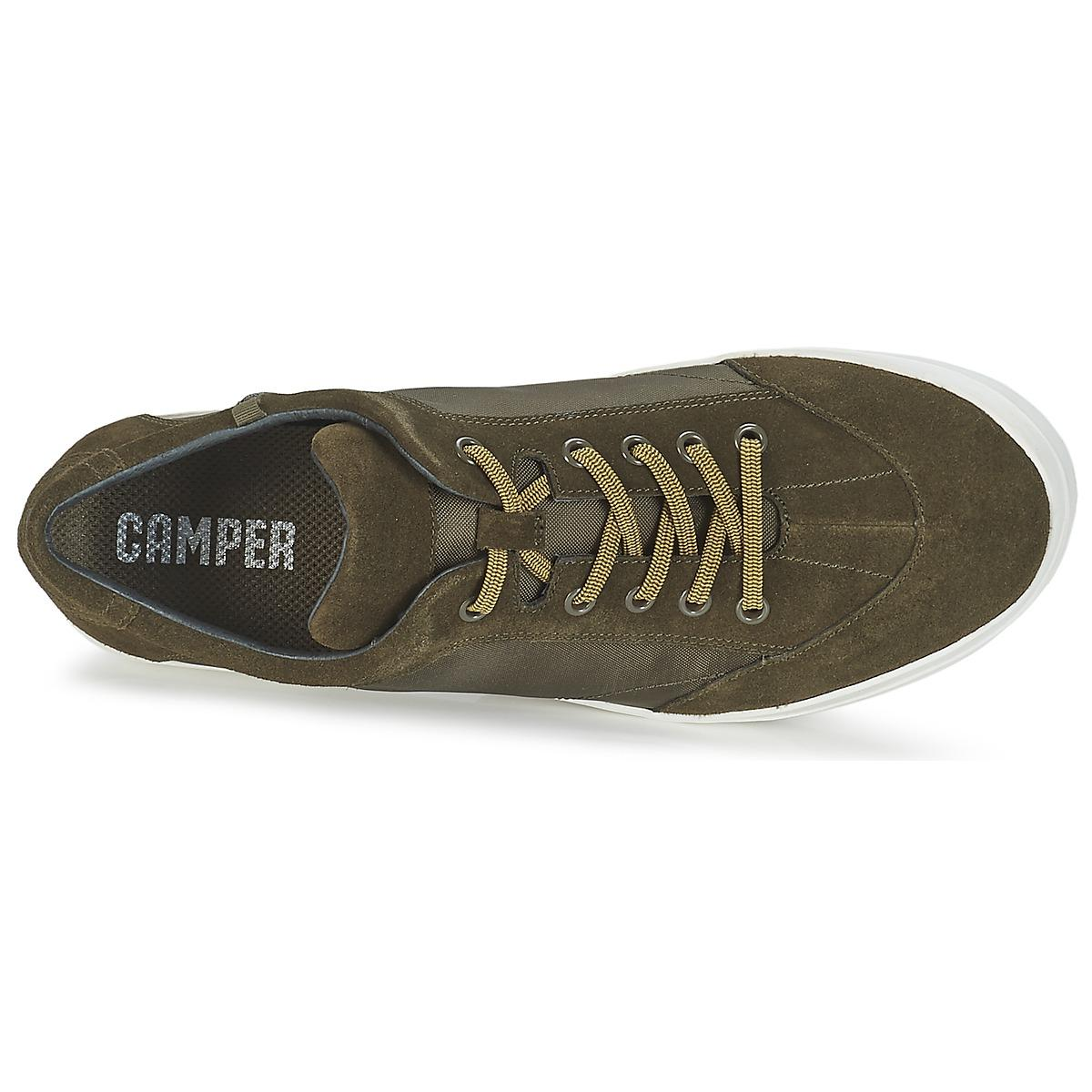 Camper Leather Peu Slastic Shoes (trainers) in Green for Men