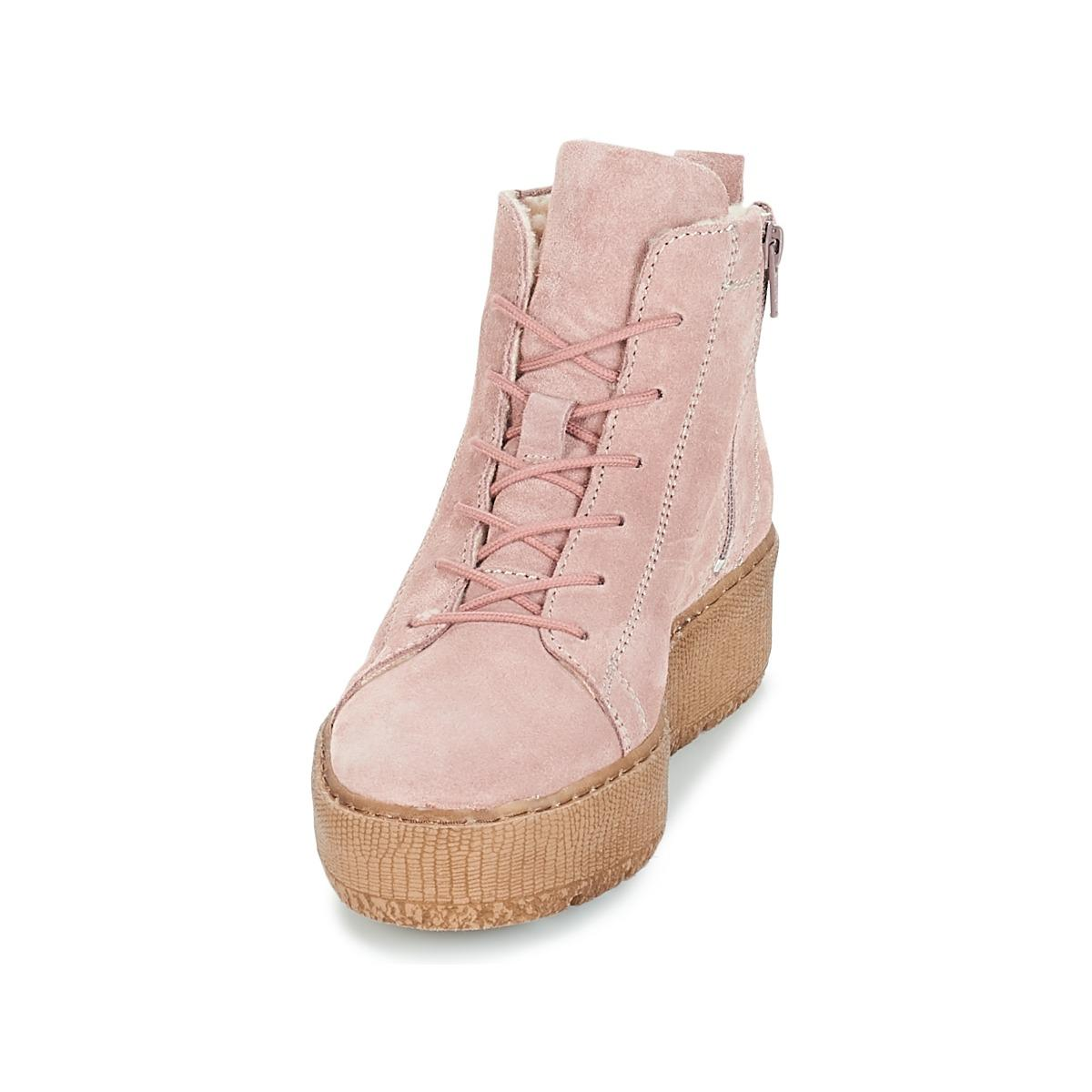 Tamaris Iman Shoes (high-top Trainers) in Pink