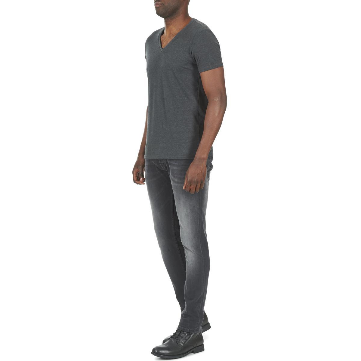 Pepe Jeans Denim Spike Men's Skinny Jeans In Grey in Grey for Men