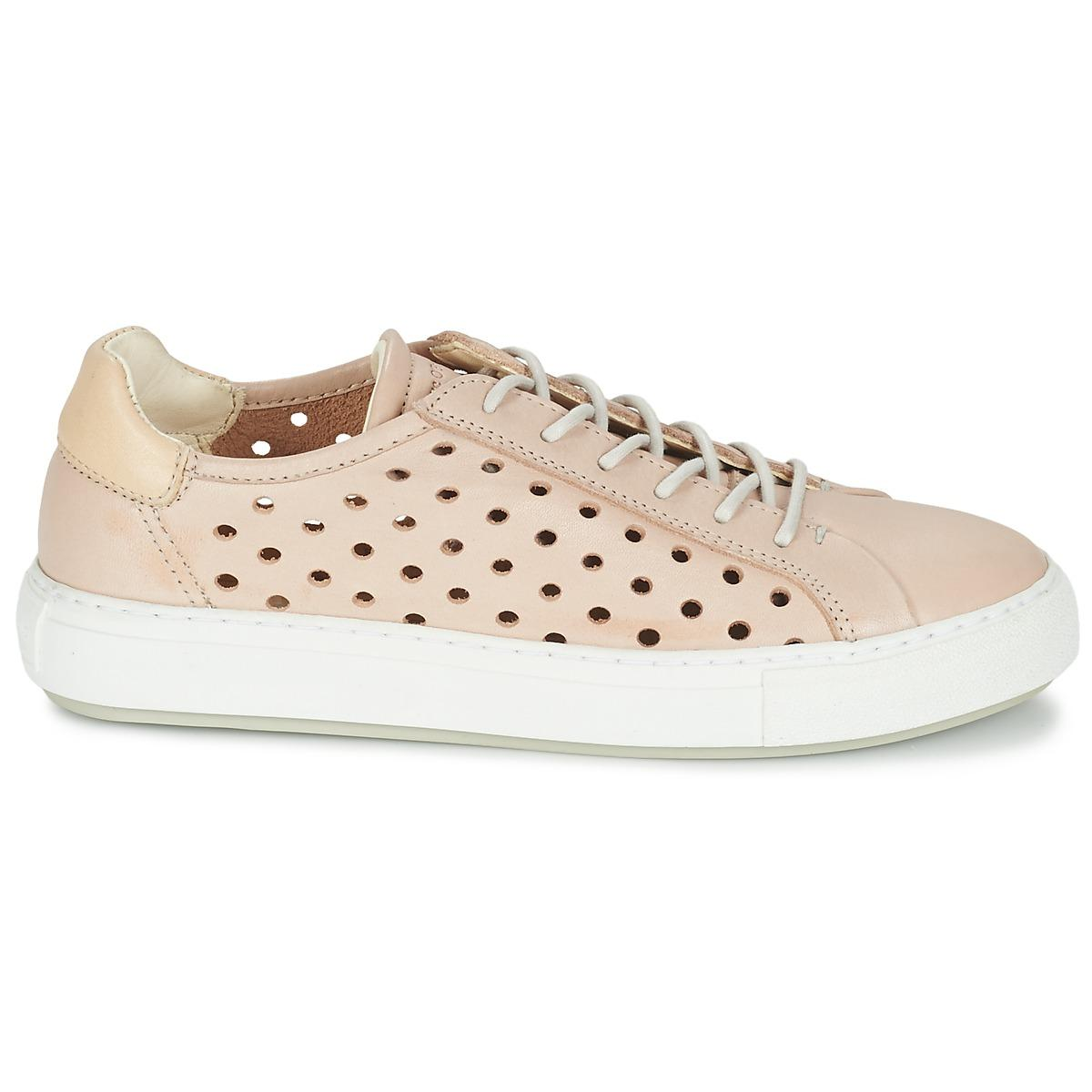 Marc O'polo Leather Odettar Shoes (trainers) in Pink