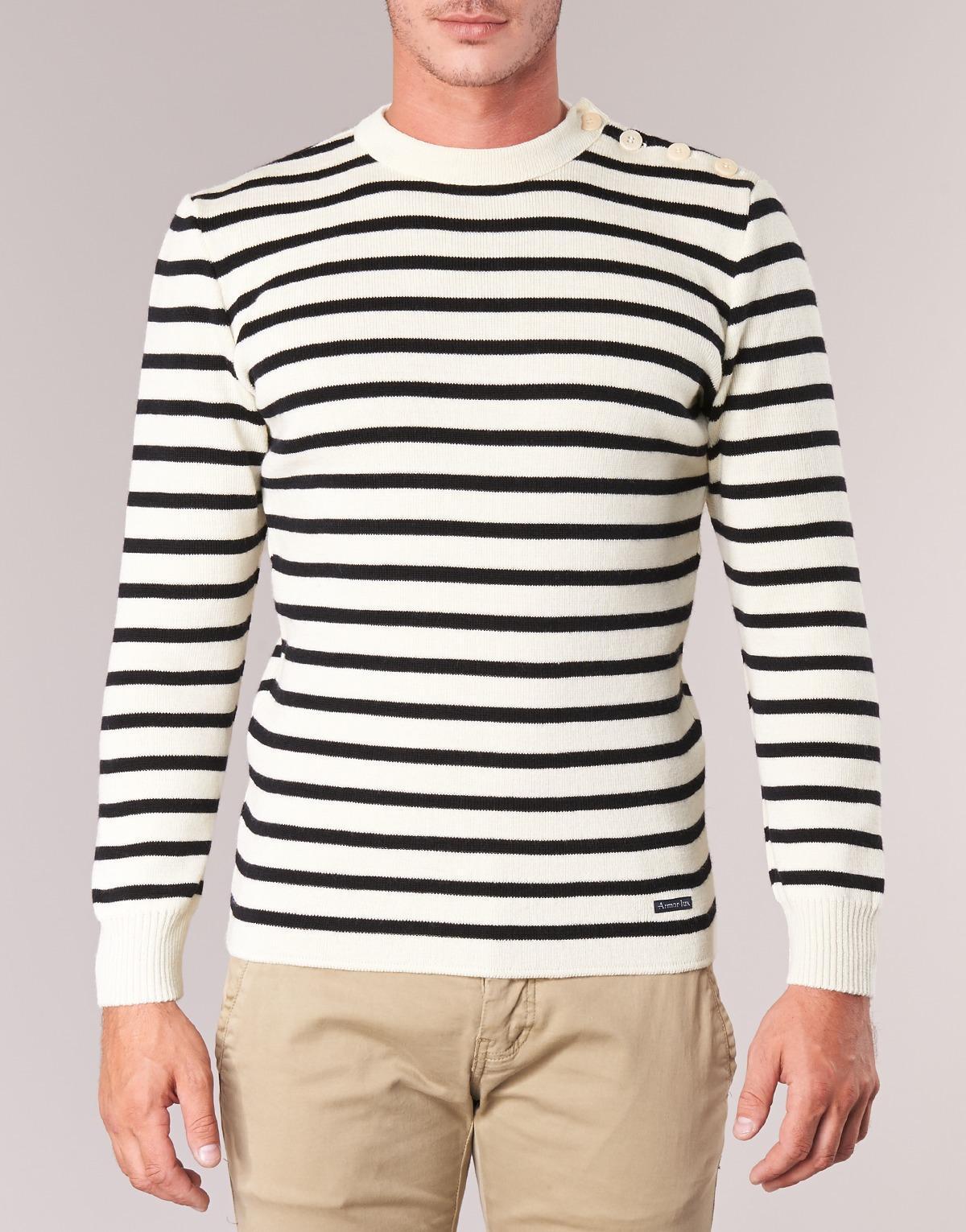 Armor Lux Groim Sweater in White for Men