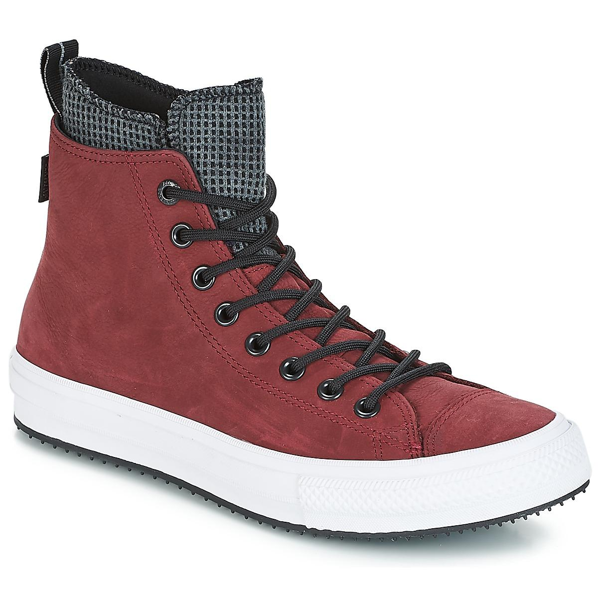 c4dc306865c Converse. Men s Red Chuck Taylor All Star Wp Boot Leather Hi Shoes (high-top  Trainers)