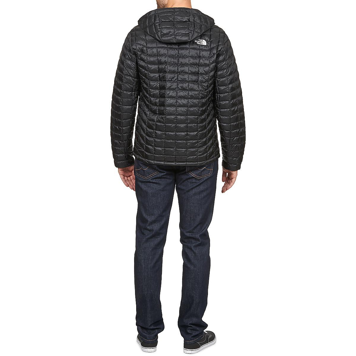 The North Face Thermoball Hoodie Jacket in Black for Men