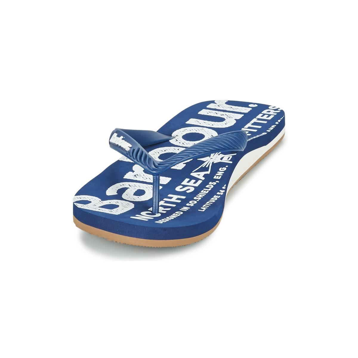 4fbf8c96ded3 Barbour North Sea Beach Sandal Flip Flops   Sandals (shoes) in Blue ...