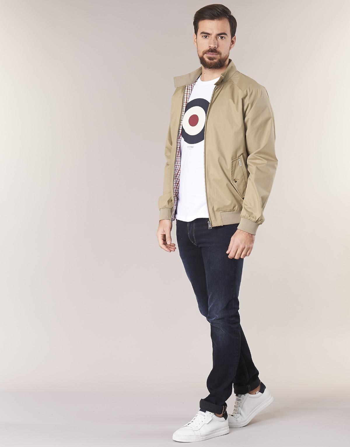 Ben Sherman Harrington Jacket in Beige (Natural) for Men - Save 17%