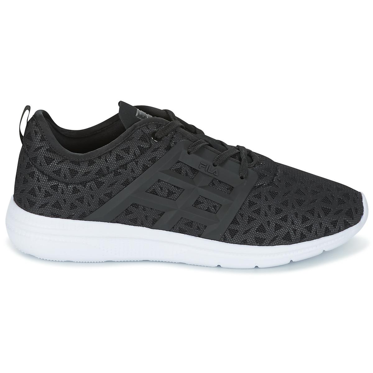 Fila Synthetic Powerbolt 2 Low Shoes (trainers) in Black for Men