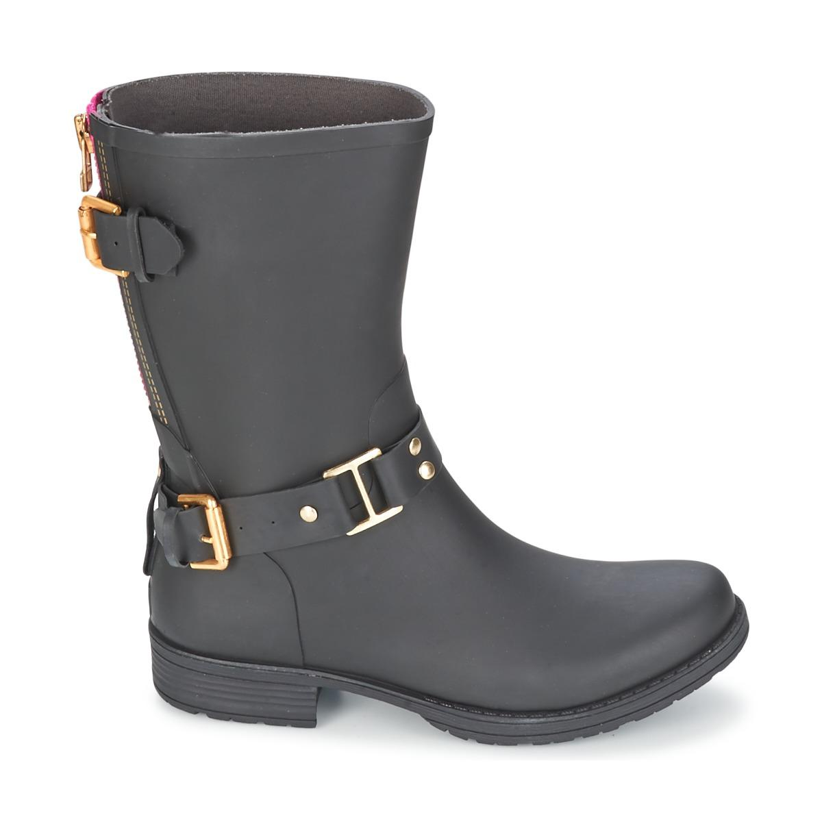 Colors Of California Classic Short Low Ankle Boots in Black