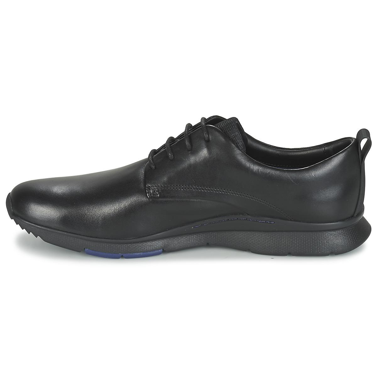 Clarks Leather Tynamo Walk Shoes (trainers) in Black for Men