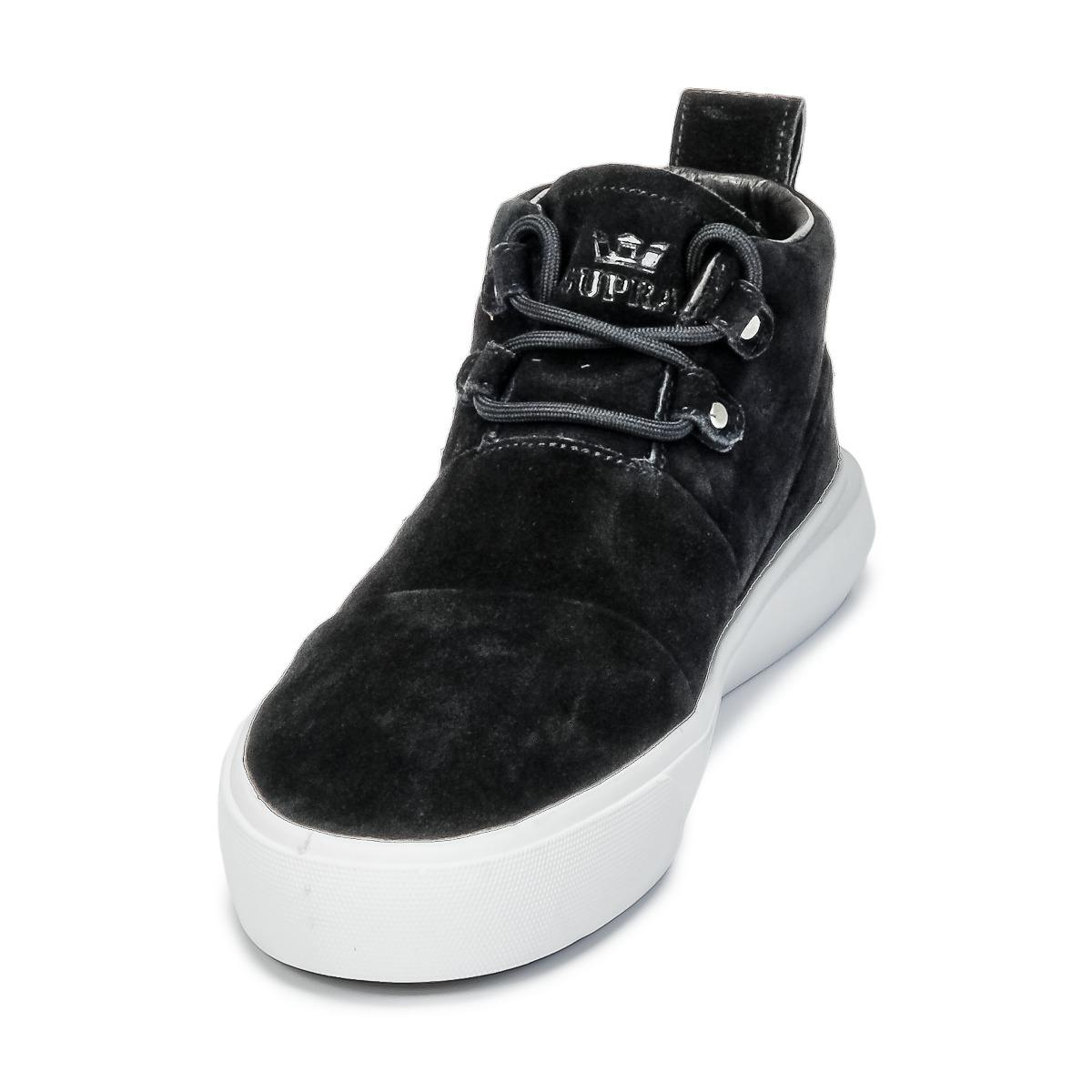 Supra Leather Charles Shoes (high-top Trainers) in Black for Men - Save 21%