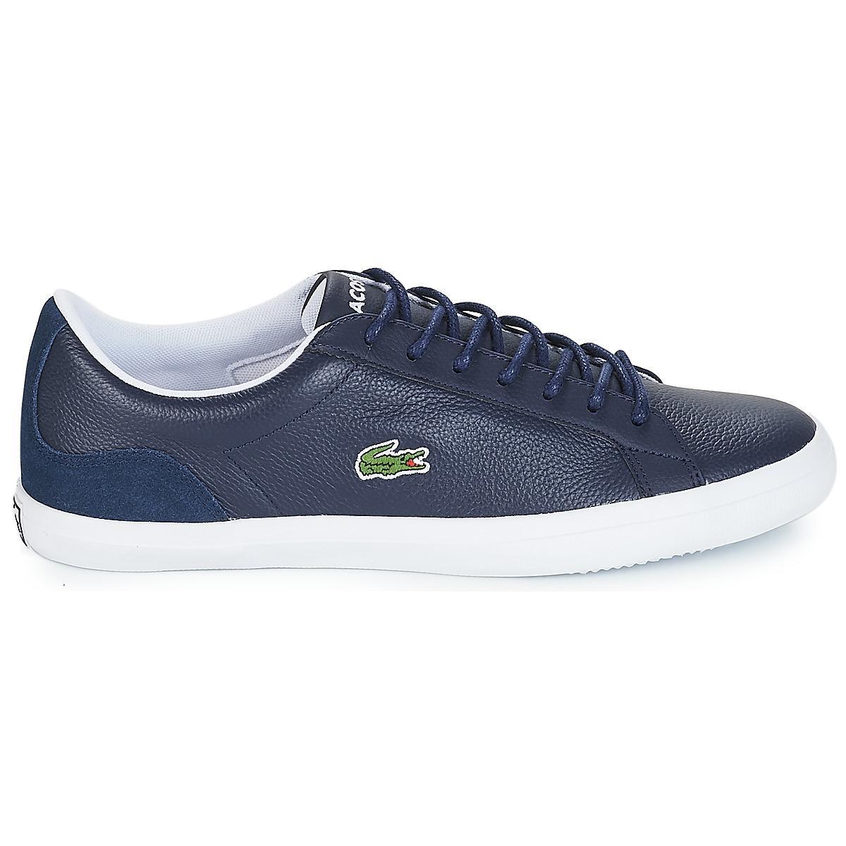 0dfa2ecf9d90 Lacoste - Blue Lerond 318 3 Shoes (trainers) for Men - Lyst. View fullscreen