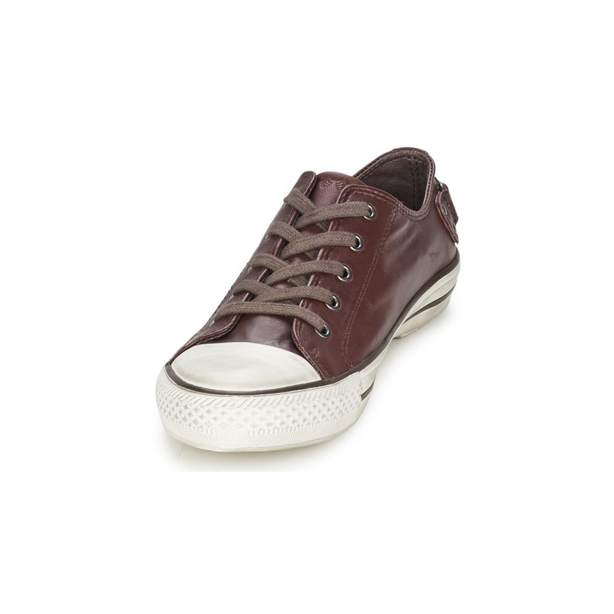 Ash Leather Virgo Shoes (trainers) in Purple