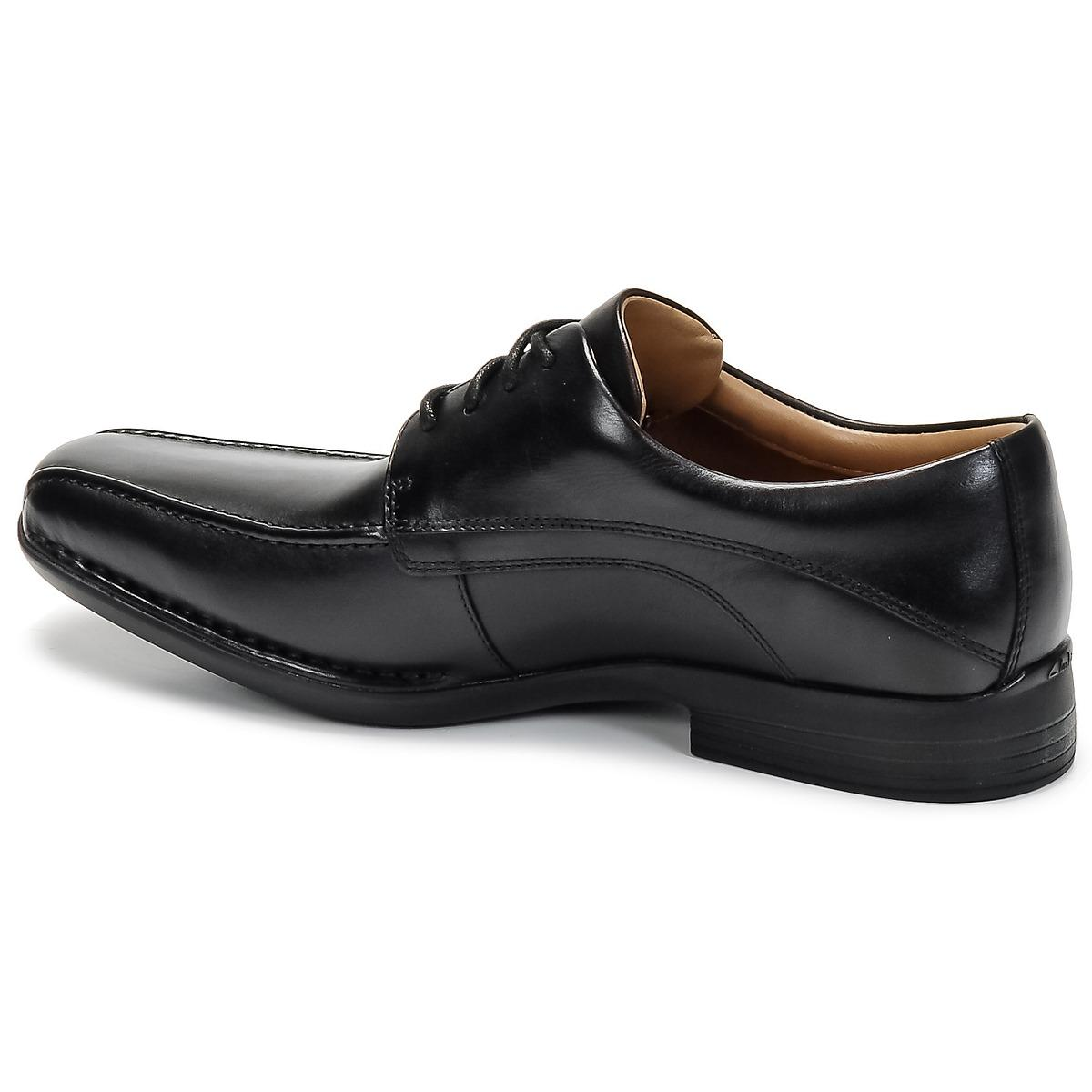 Clarks Francis Casual Shoes in Black for Men