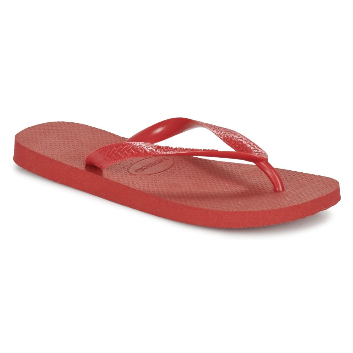 63a1463ad Havaianas Top Flip Flops (hollywood Rose) Women s Sandals in Red ...