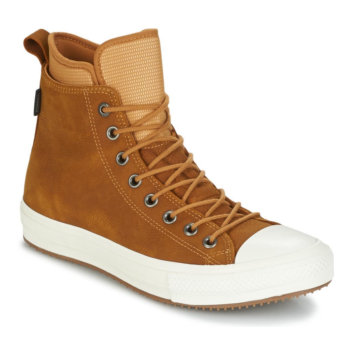 1221176a4c4 Converse Chuck Taylor Wp Boot Nubuck Hi Raw Sugar egret gum Shoes ...