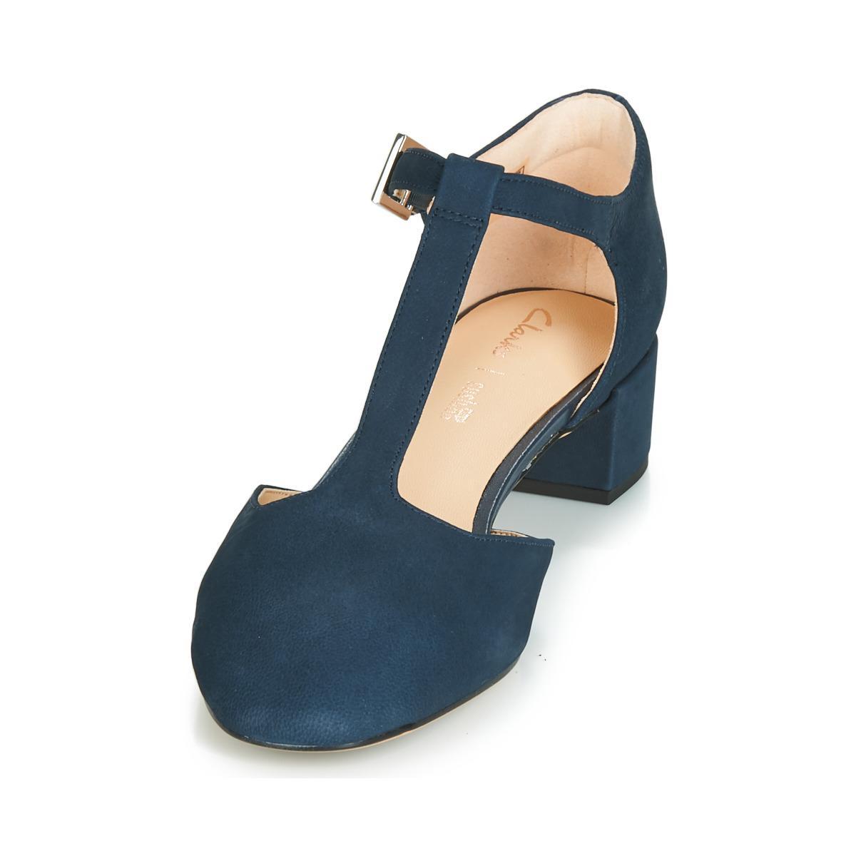 85024f3aa8b Clarks - Blue Orabella Holly Heels - Lyst. View fullscreen