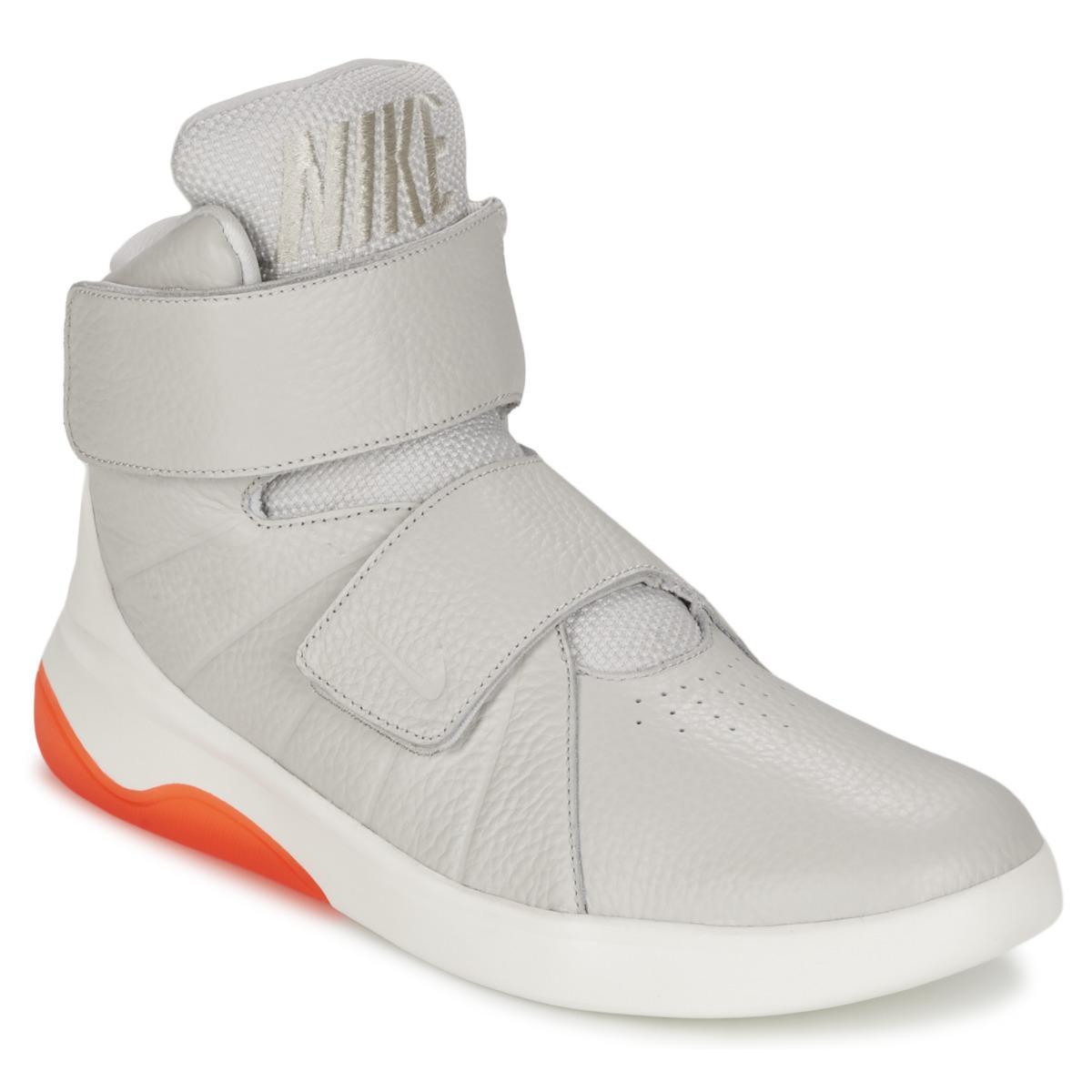 Nike. Men's Gray Marxman Shoes (high-top ...