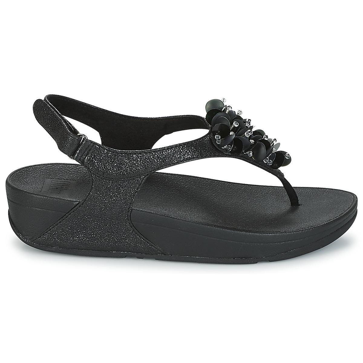 9ed0935a959 Fitflop - Black Boogaloo Back Strap Sandal Sandals - Lyst. View fullscreen