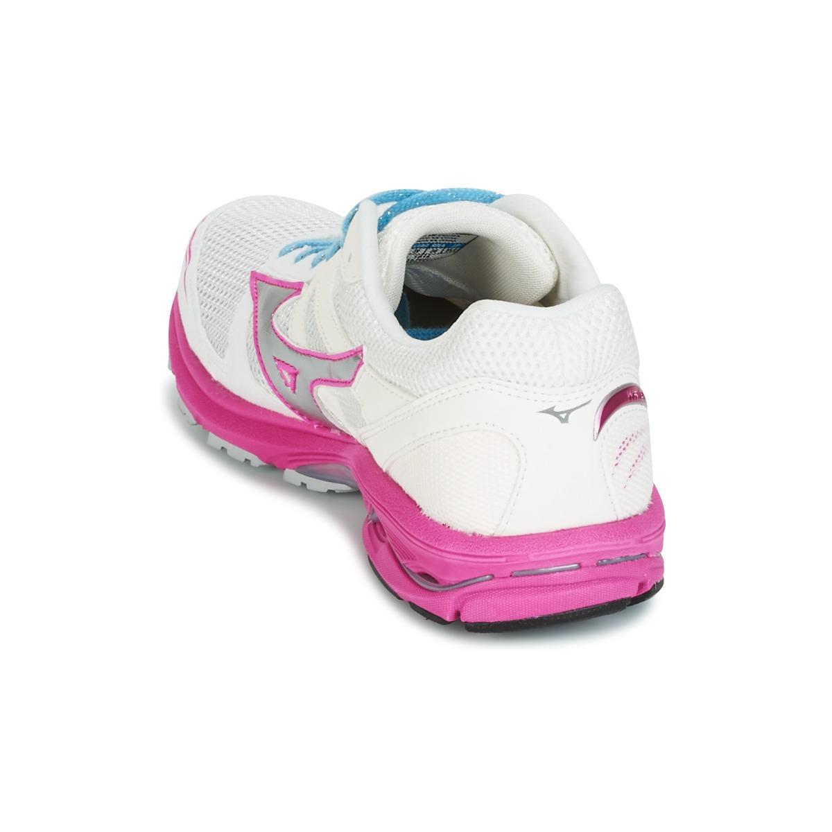 Mizuno Wave Aero 15 (w) Running Trainers in White