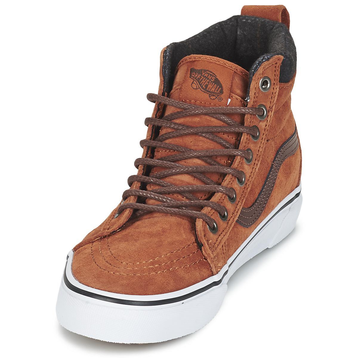 Vans Sk8-hi Mte Shoes (high-top Trainers) in Brown
