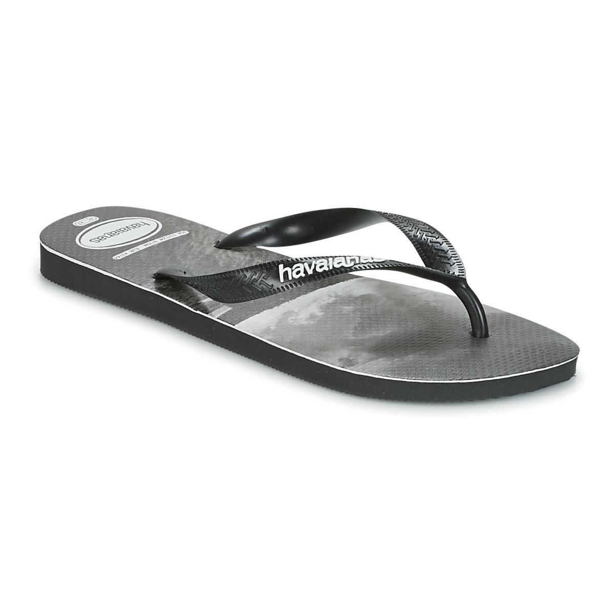94baaebe4 Havaianas Top Photoprint Flip Flops   Sandals (shoes) in Black for ...