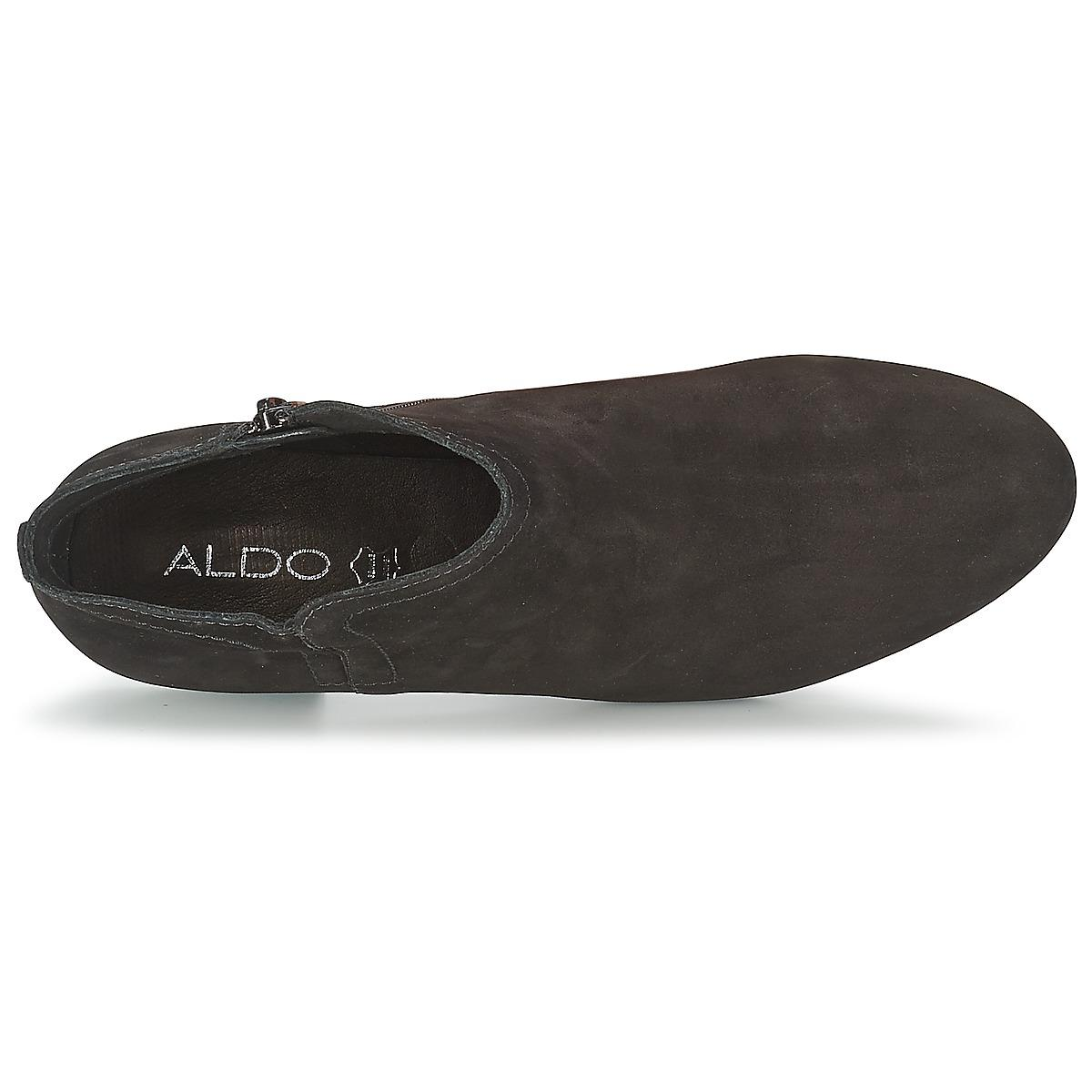 ALDO Leather Afaleri Women's Mid Boots In Black - Save 22%