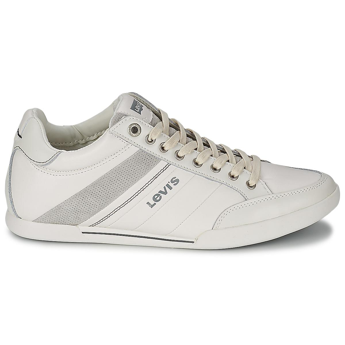 Levi's Leather Turlock Refresh Shoes (trainers) in White for Men