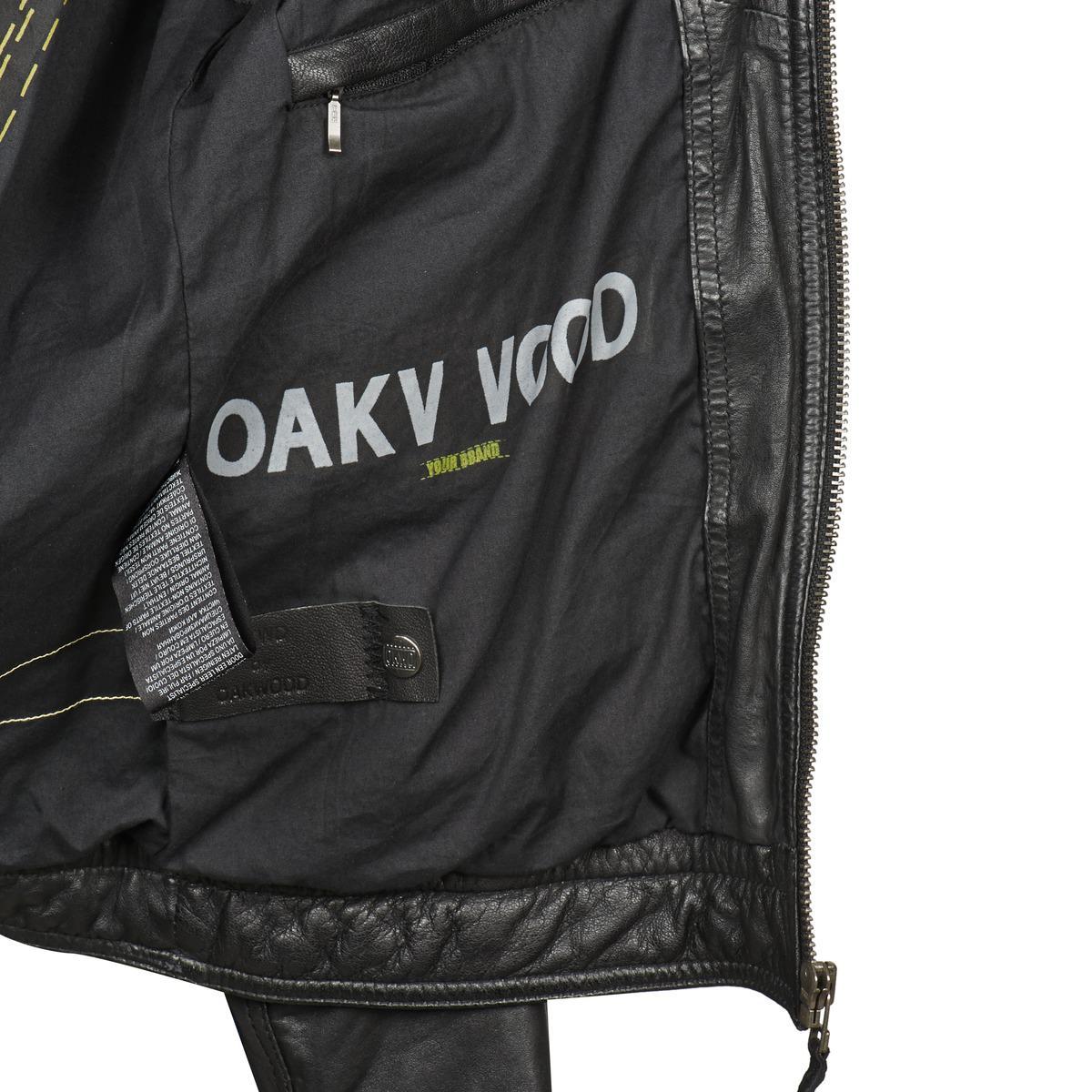 Oakwood 60574 Leather Jacket in Black for Men