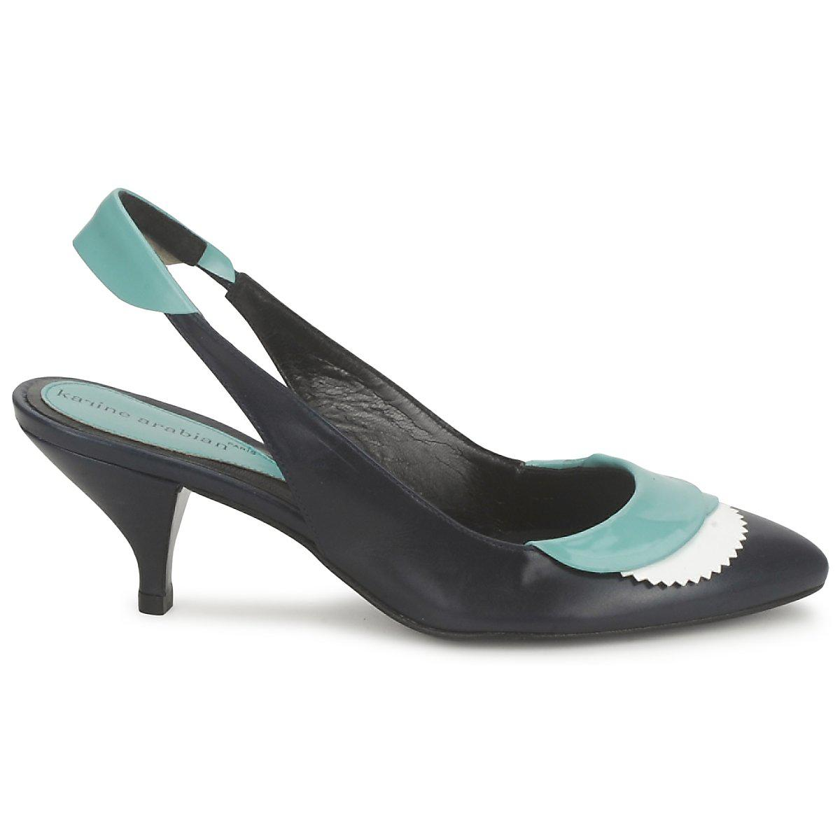 Lyst Lila Arabian Karine fullscreen View Black Sandals OPIddwESq