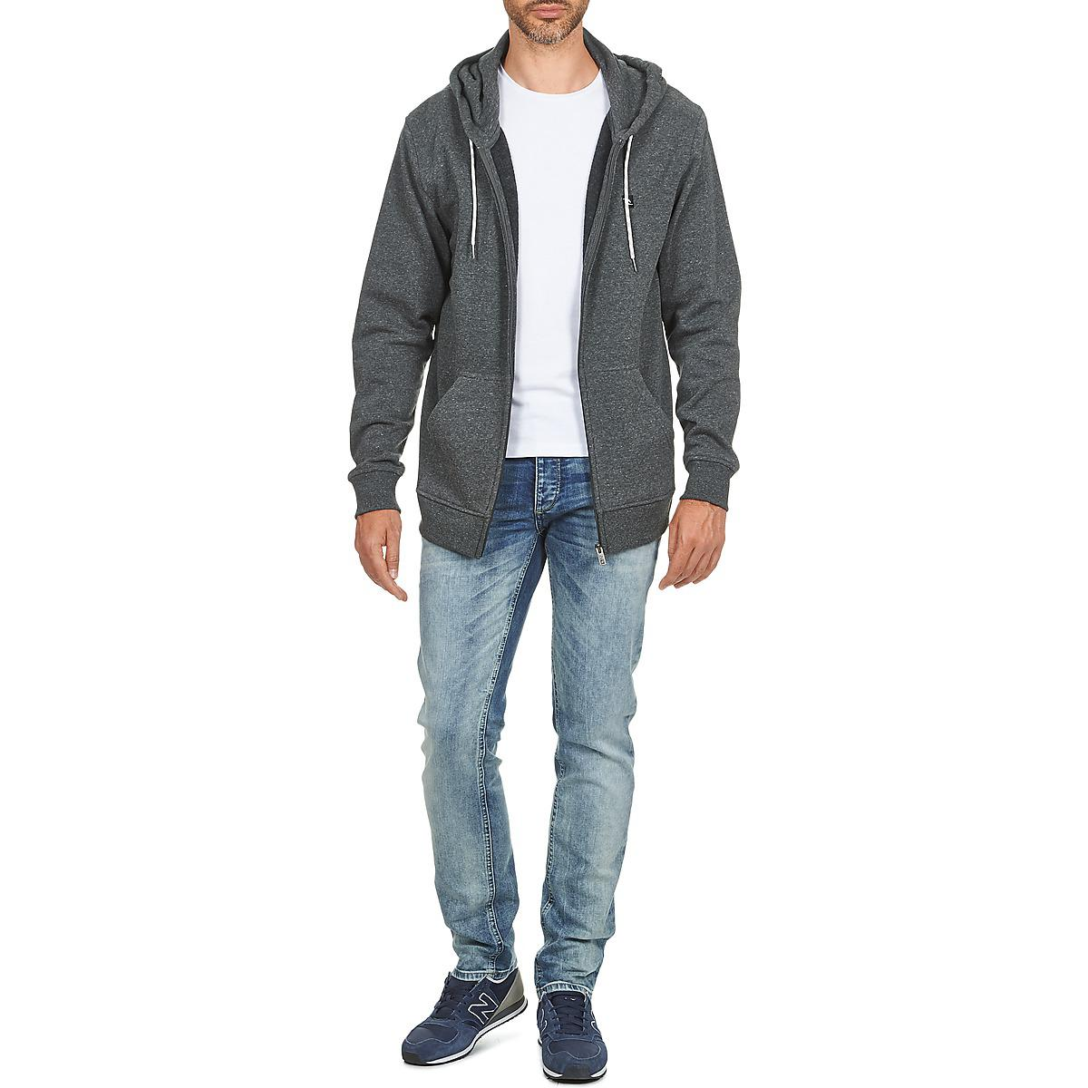 Rip Curl Synthetic Zinc Hz Sweatshirt in Black for Men