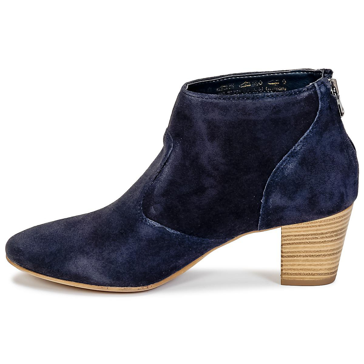 Tamaris Synthetic Mirci Low Boots in Blue