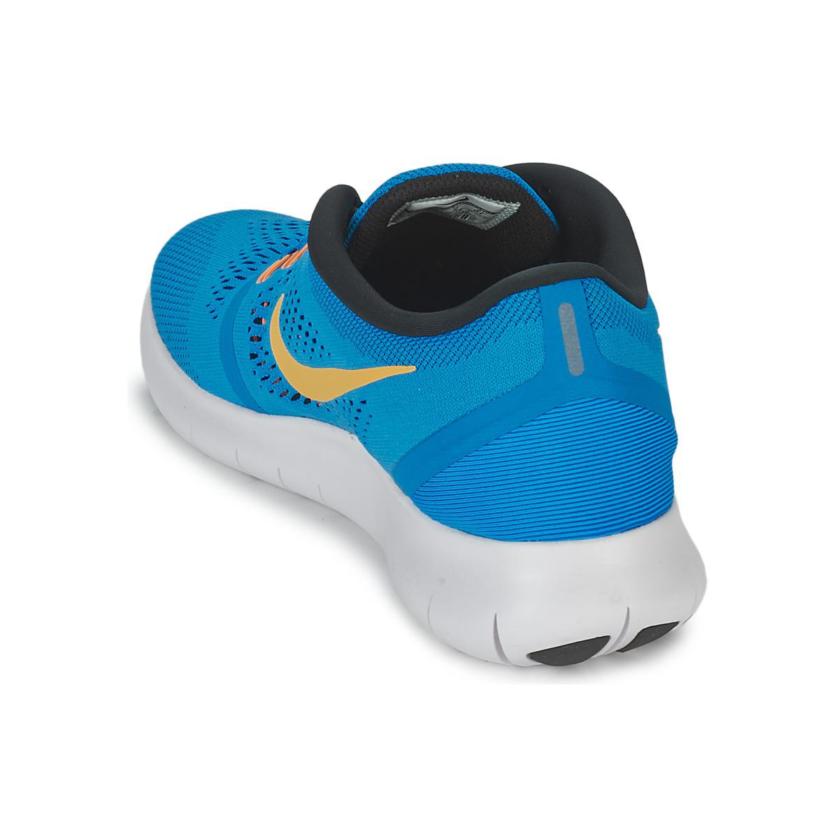 Nike Synthetic Free Run Running Trainers in Blue for Men
