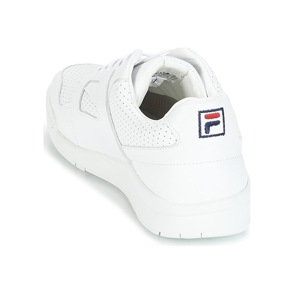 Fila Cedar Low Shoes (trainers) in White for Men