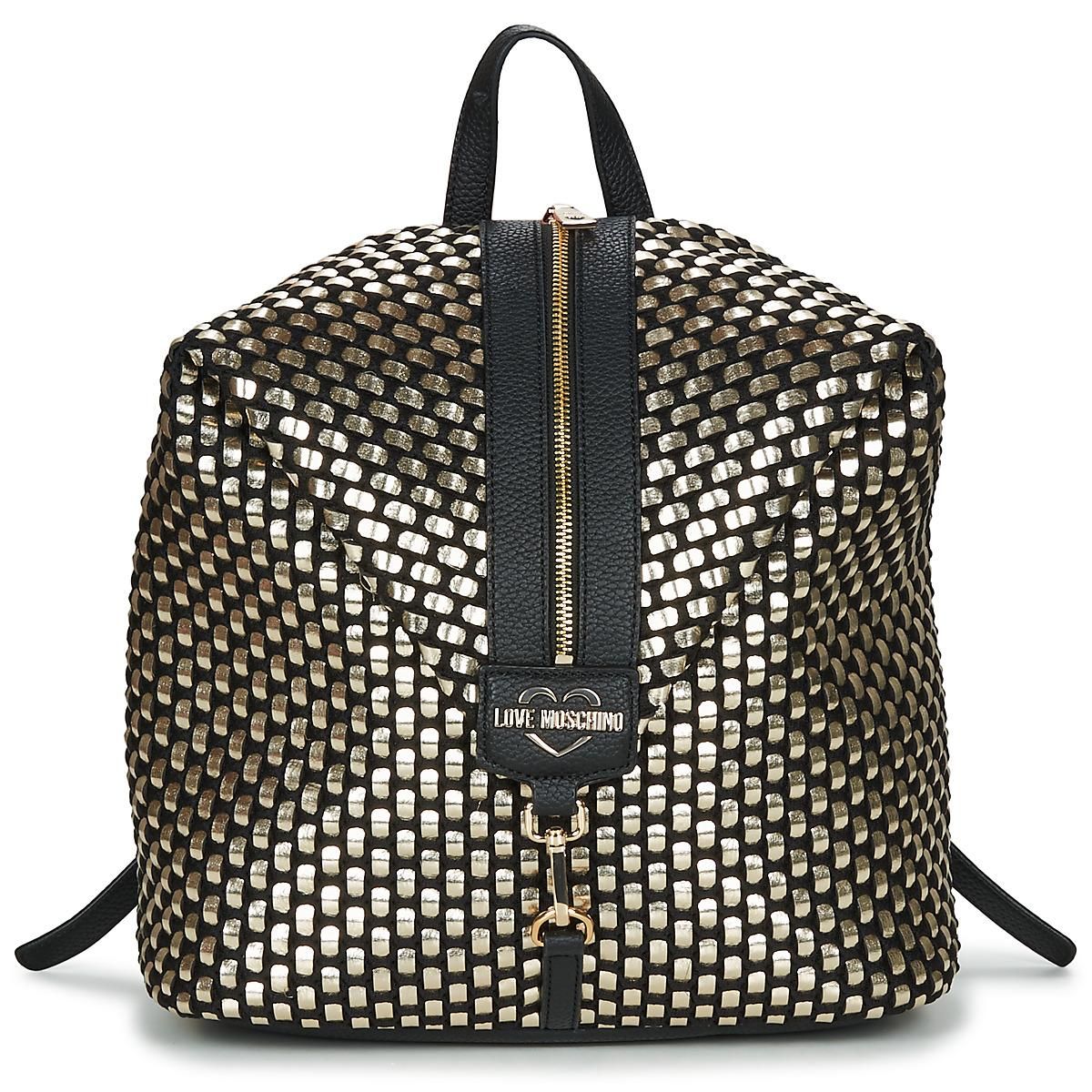 32346703c1 Love Moschino Jc4294pp07 Backpack in Metallic - Lyst