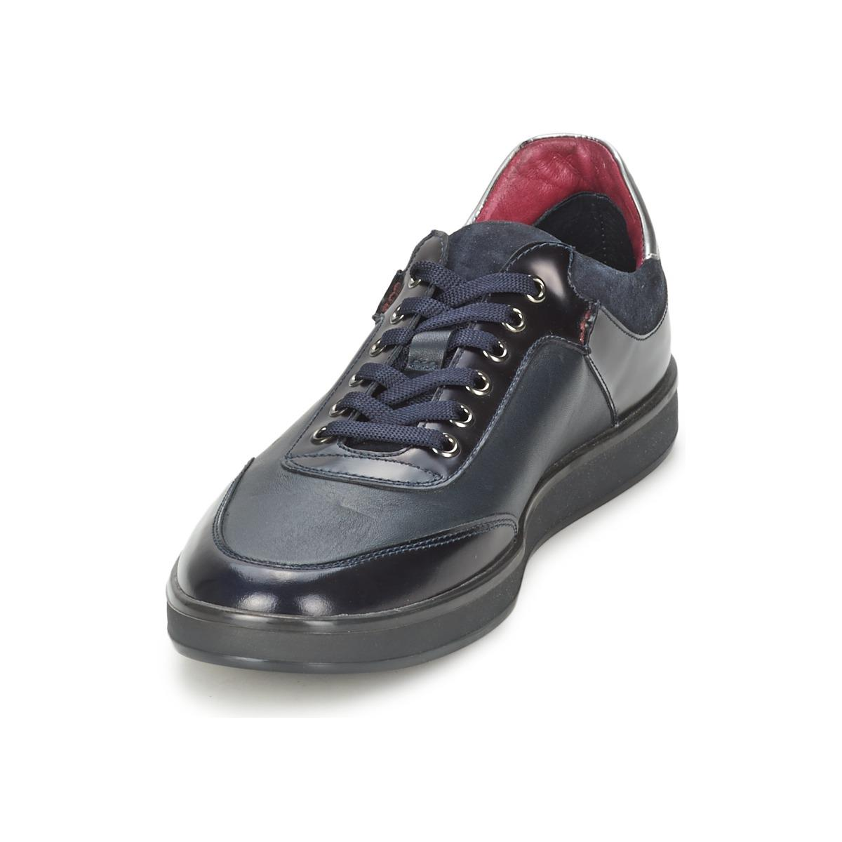 Bikkembergs Leather Olimpian 97 L Shoes (trainers) in Blue for Men