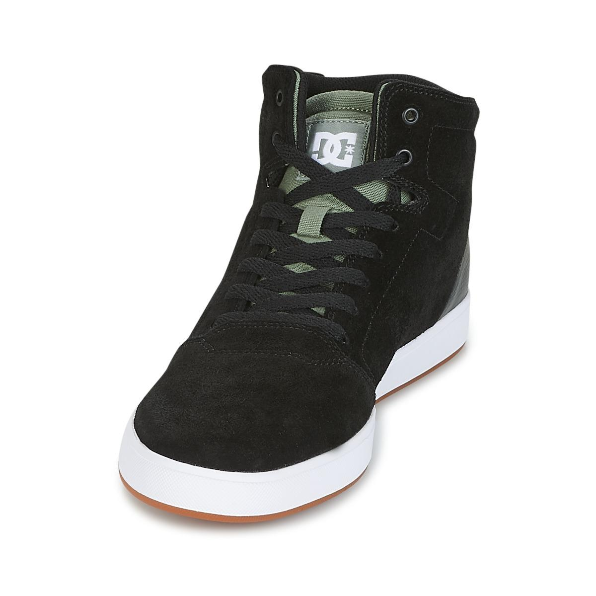 DC Shoes Leather Crisis High M Shoe Bo1 Skate Shoes (trainers) in Black for Men
