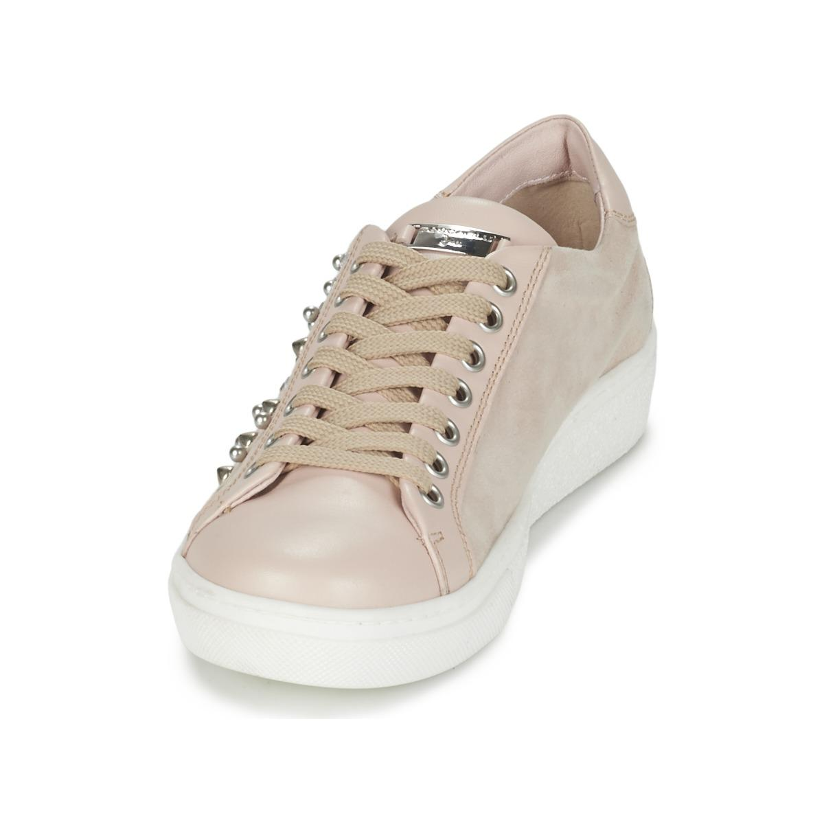 Tosca Blu Leather Sebis Shoes (trainers) in Pink