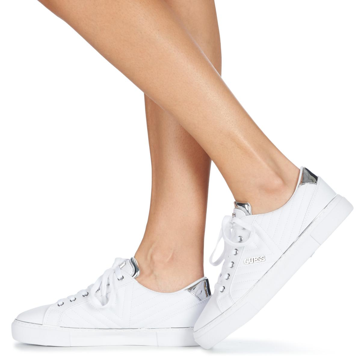 Guess Groovie Shoes (trainers) in White