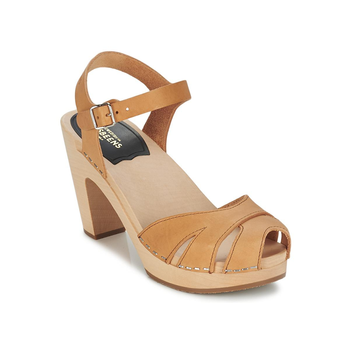 4875381d4e3 Swedish Hasbeens Suzanne Sandals in Natural - Lyst