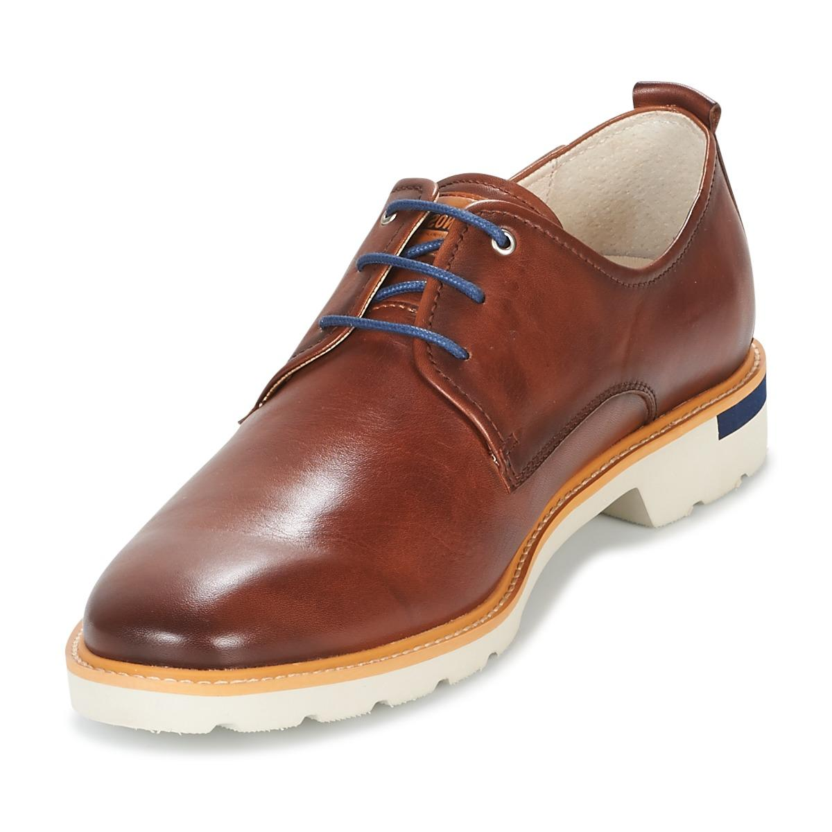 Pikolinos Leather Salou M9j Casual Shoes in Brown for Men