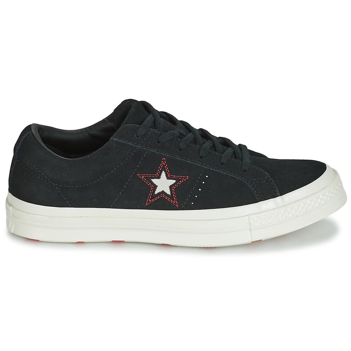 In Love Ox Shoes Details Suede The Black trainers Converse View Star fullscreen One wIWqtwBO