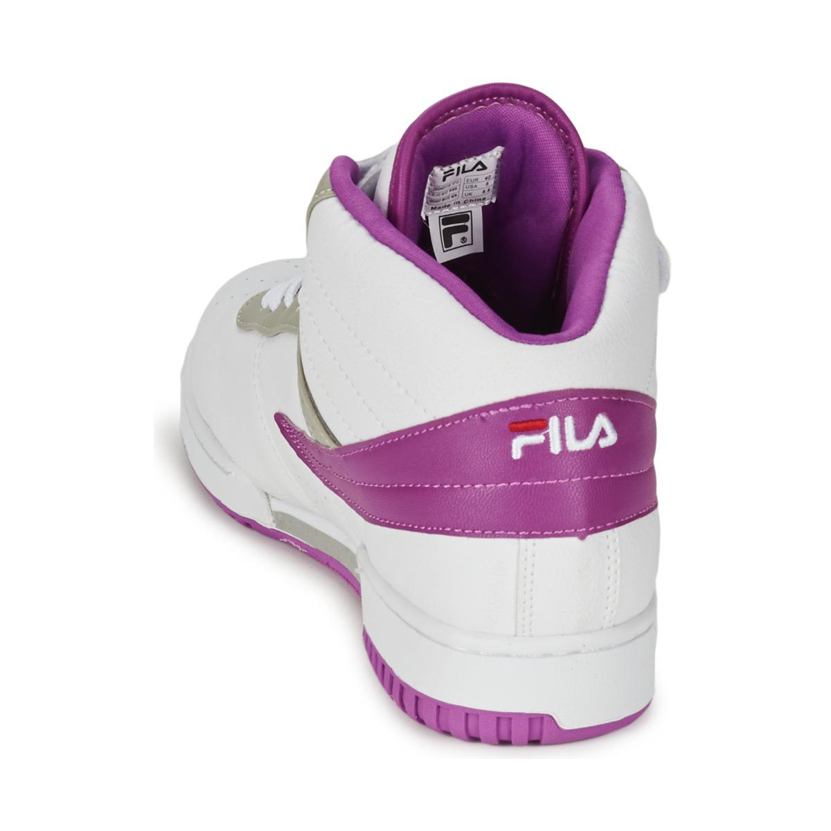 Fila F-13 Mid Wmn Shoes (high-top Trainers) in White