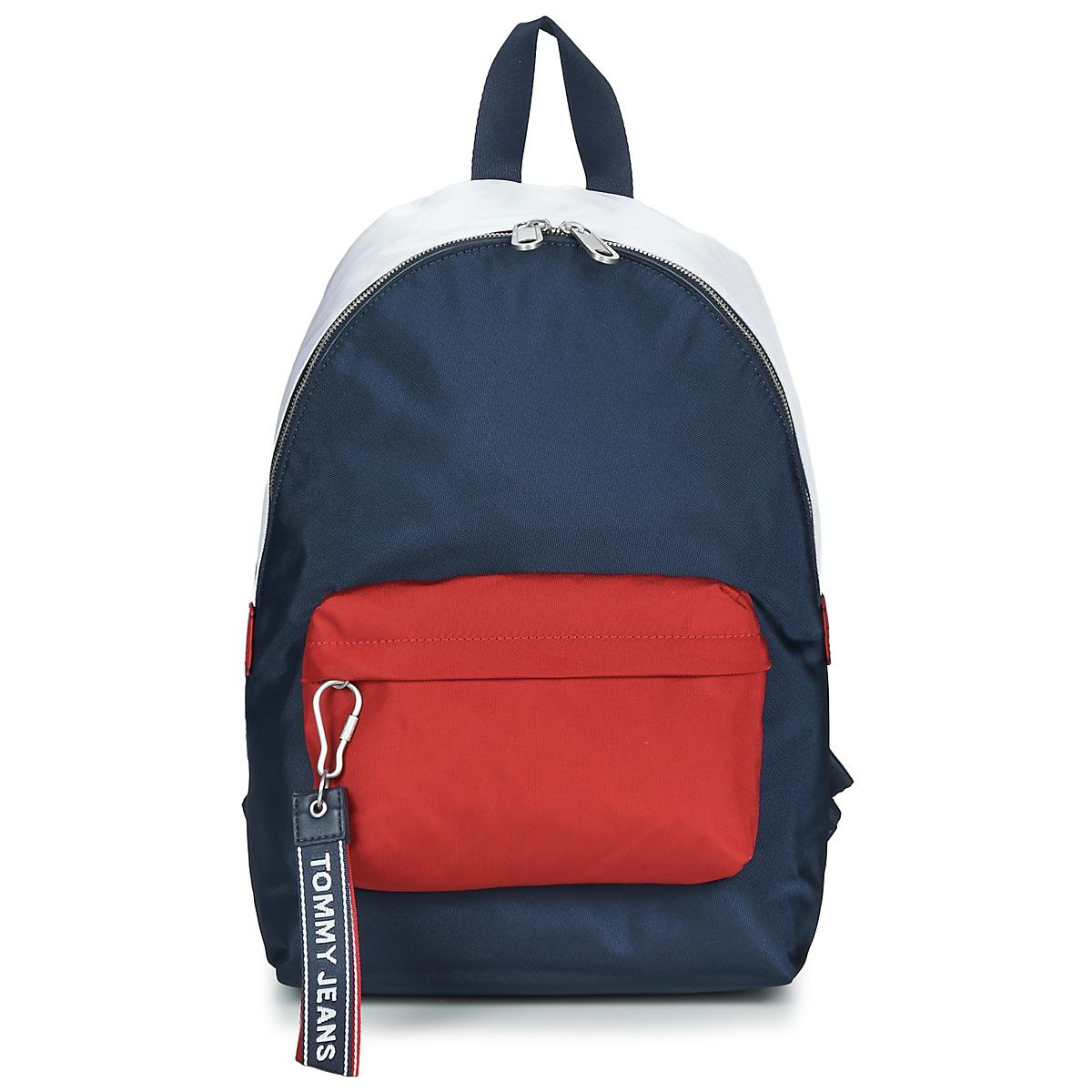 5ebc6022c32 Tommy Hilfiger - Blue Tju Logo Tape Med Backpack - Lyst. View fullscreen