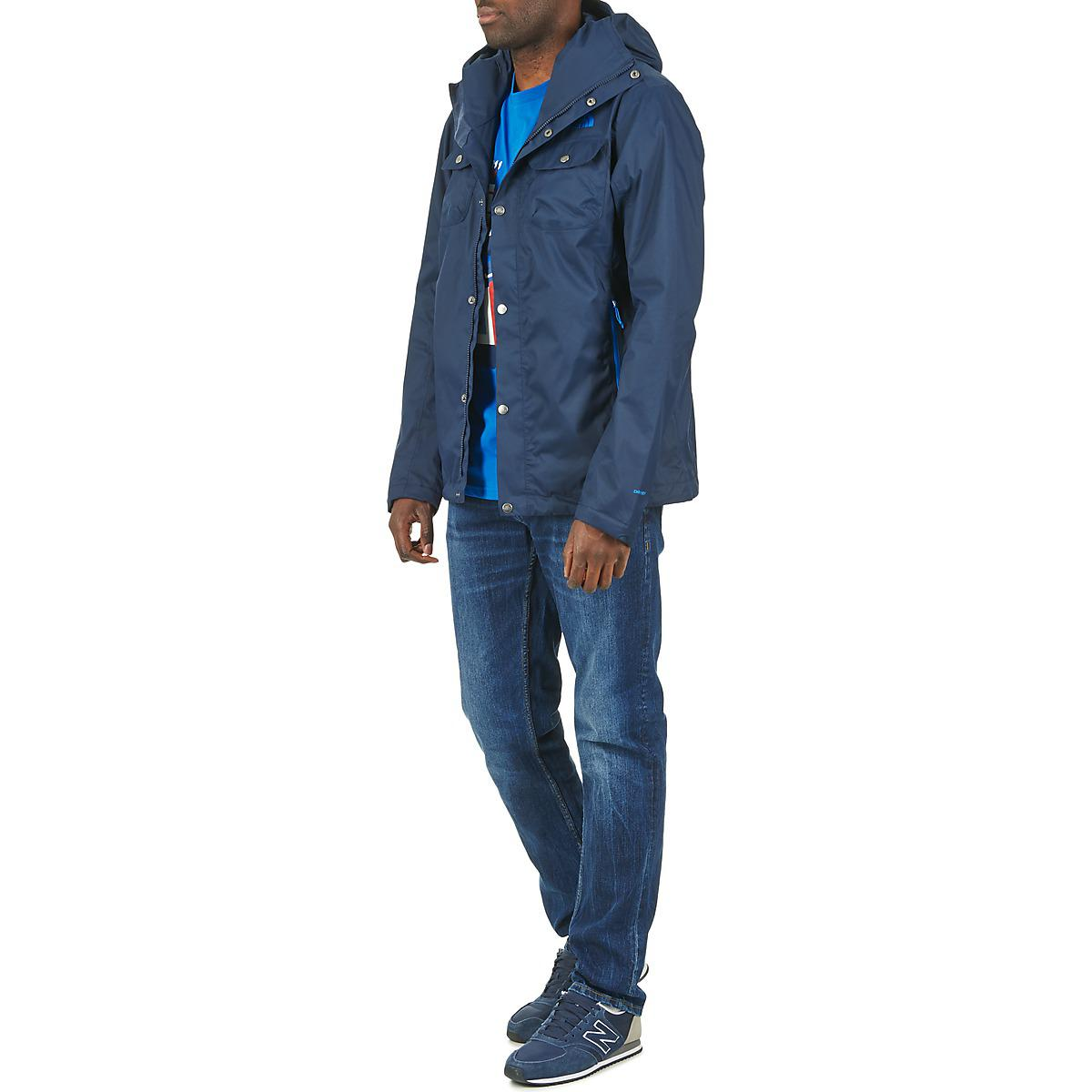 The North Face Synthetic Arrano Parka in Blue for Men