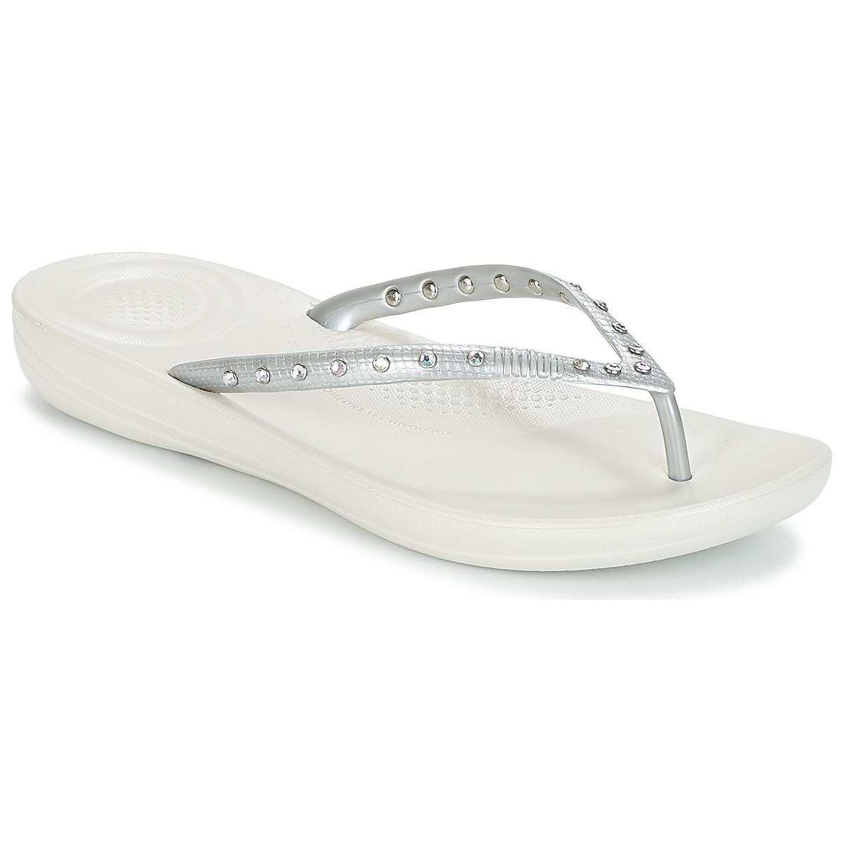 93e9d2f724baf Fitflop Iqushion Ergonomic Flip Flops Crystal Flip Flops   Sandals ...