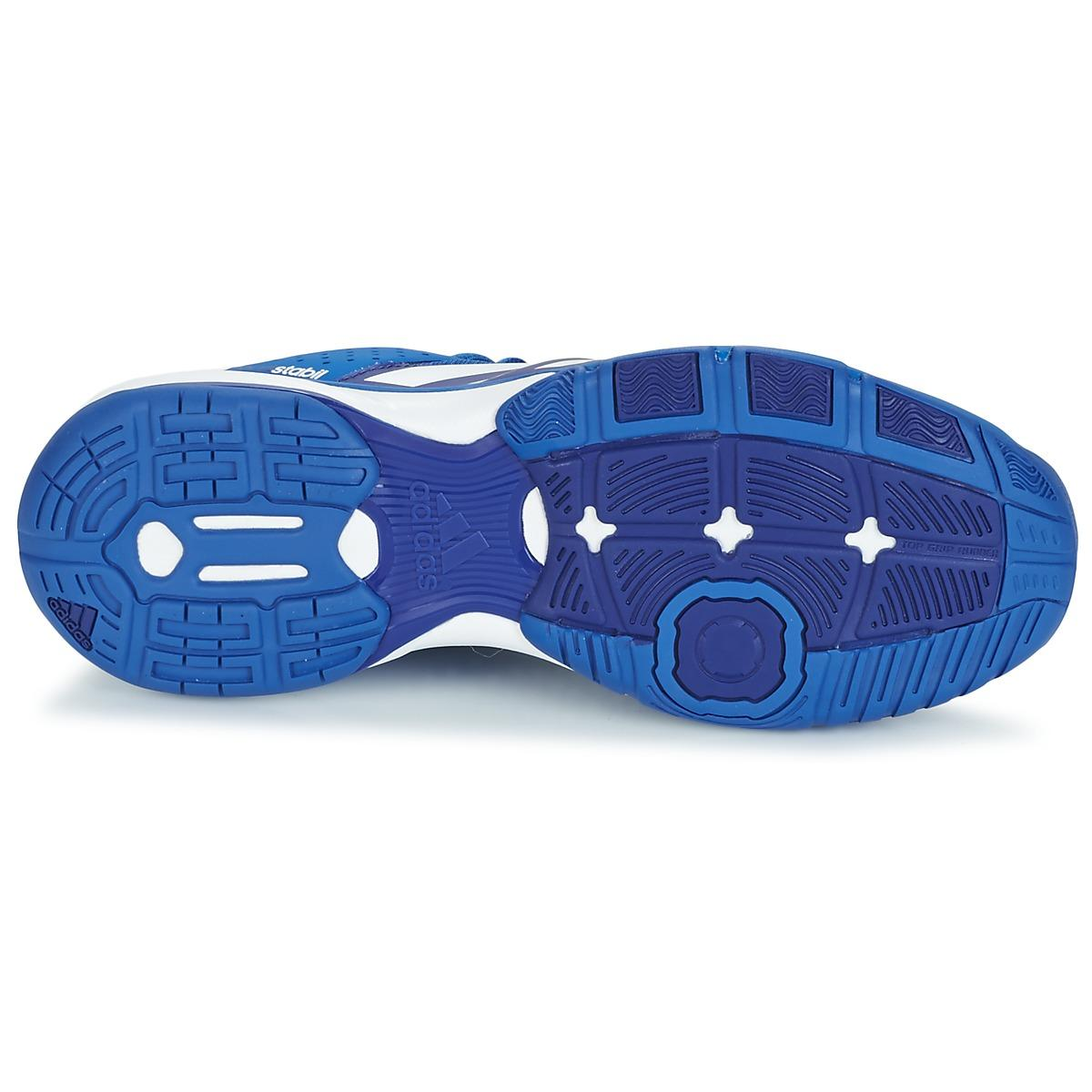 adidas Synthetic Court Stabil Men's Indoor Sports Trainers (shoes) In Blue for Men