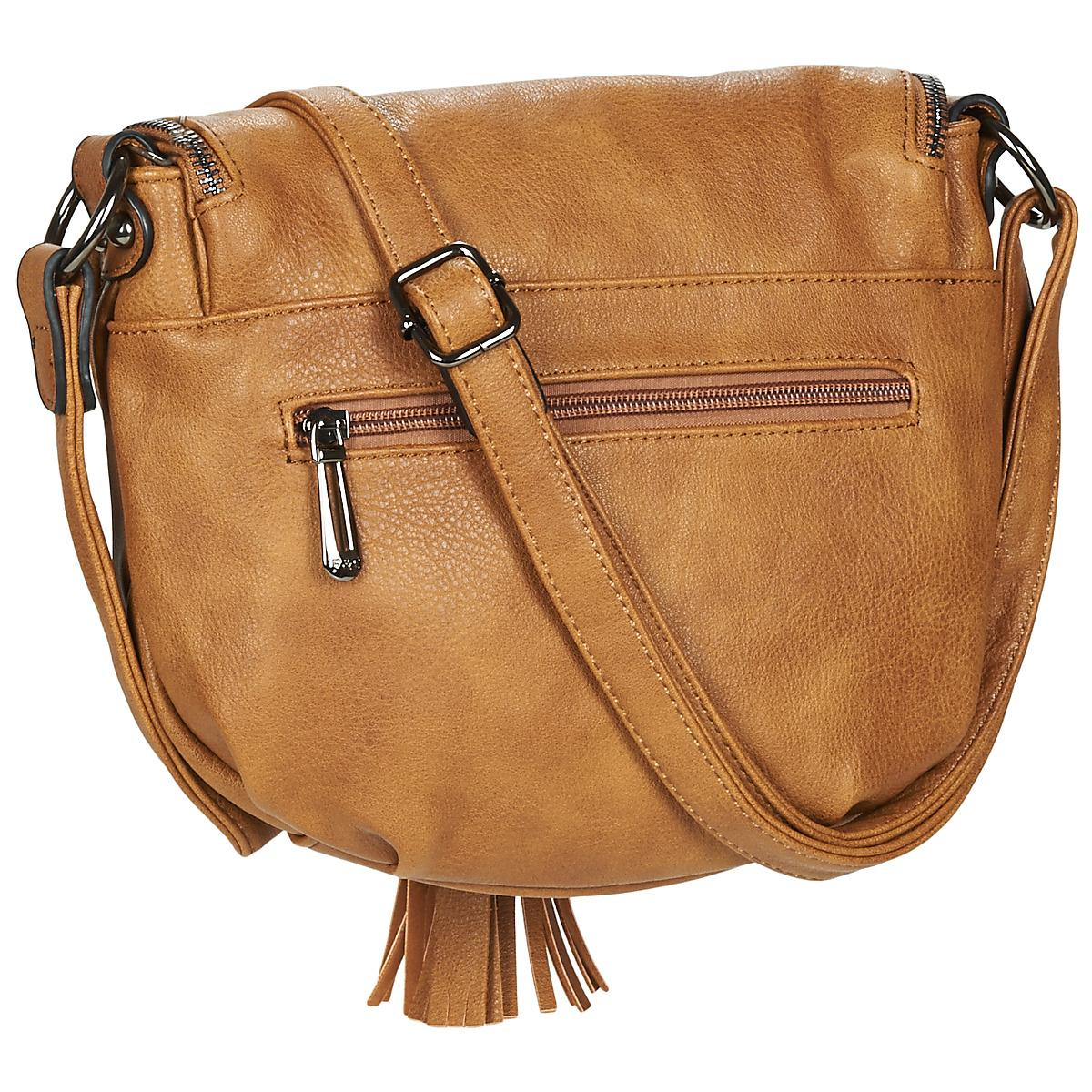 Nanucci Gurubi Shoulder Bag In Brown Lyst