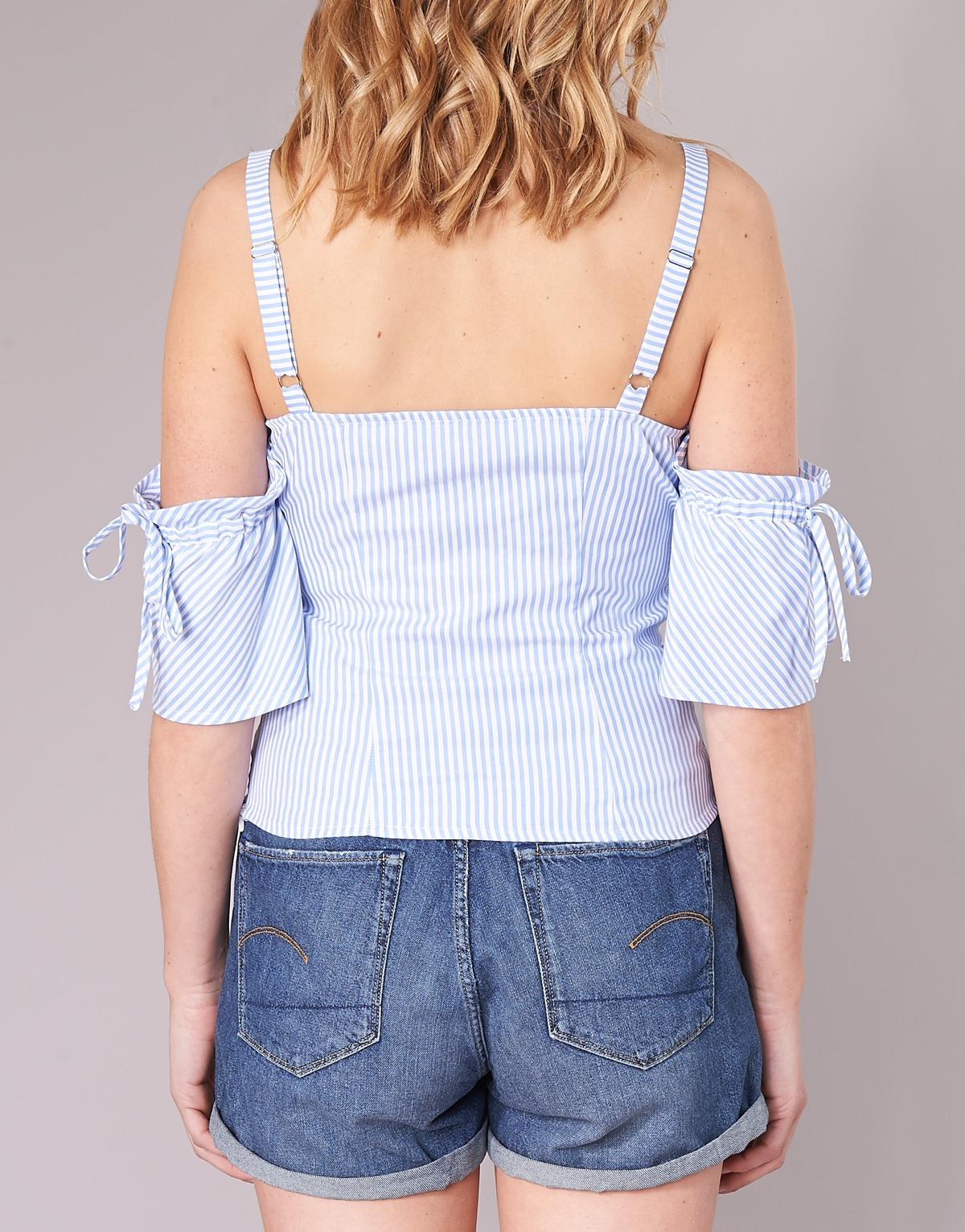Guess Ounoner Women's Blouse In Blue