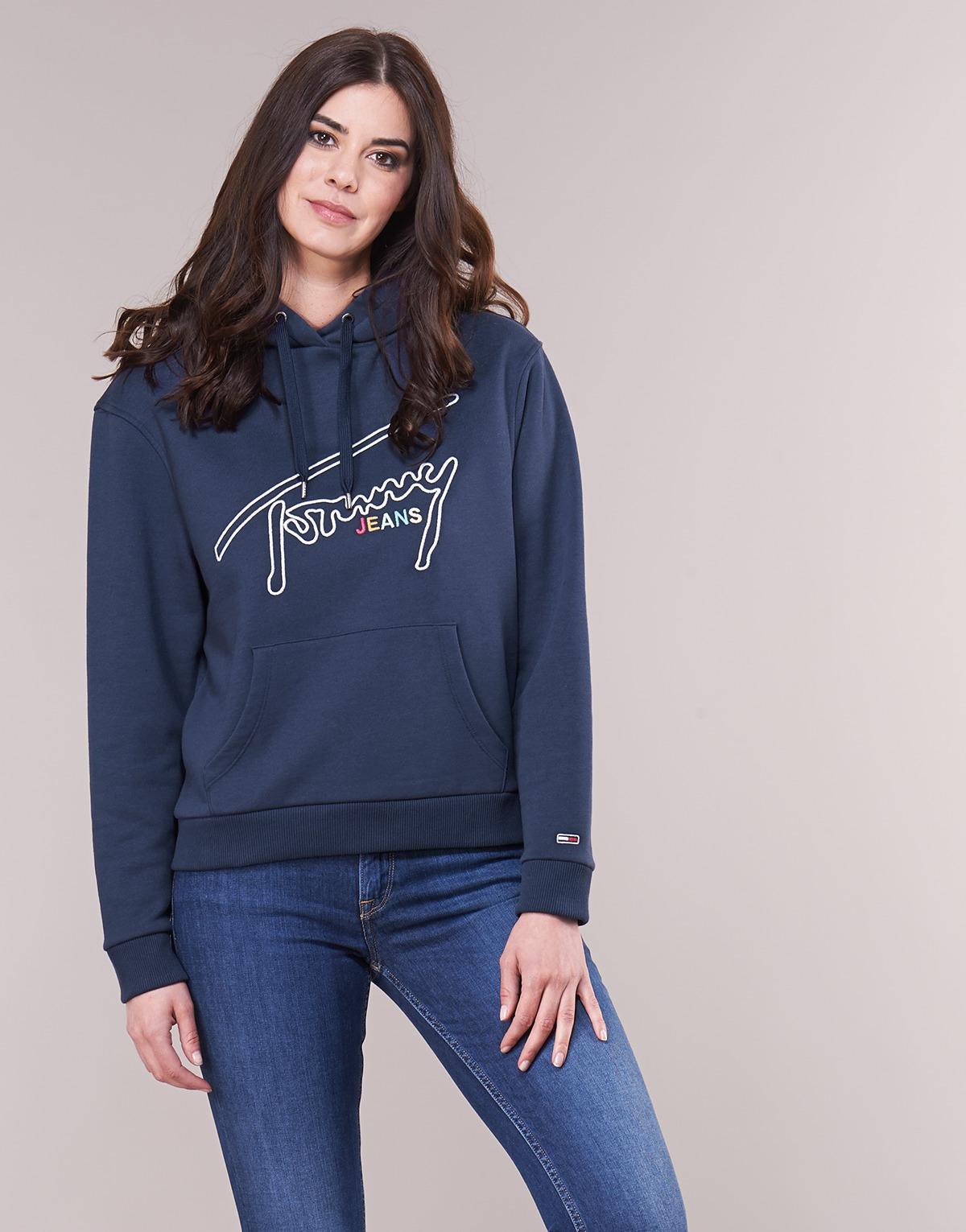 2f10b26b8 Tommy Hilfiger Tjw Tommy Signature Women's Sweatshirt In Blue in ...